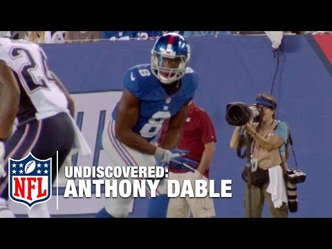 Anthony Dable with the New York Giants | NFL Undiscovered