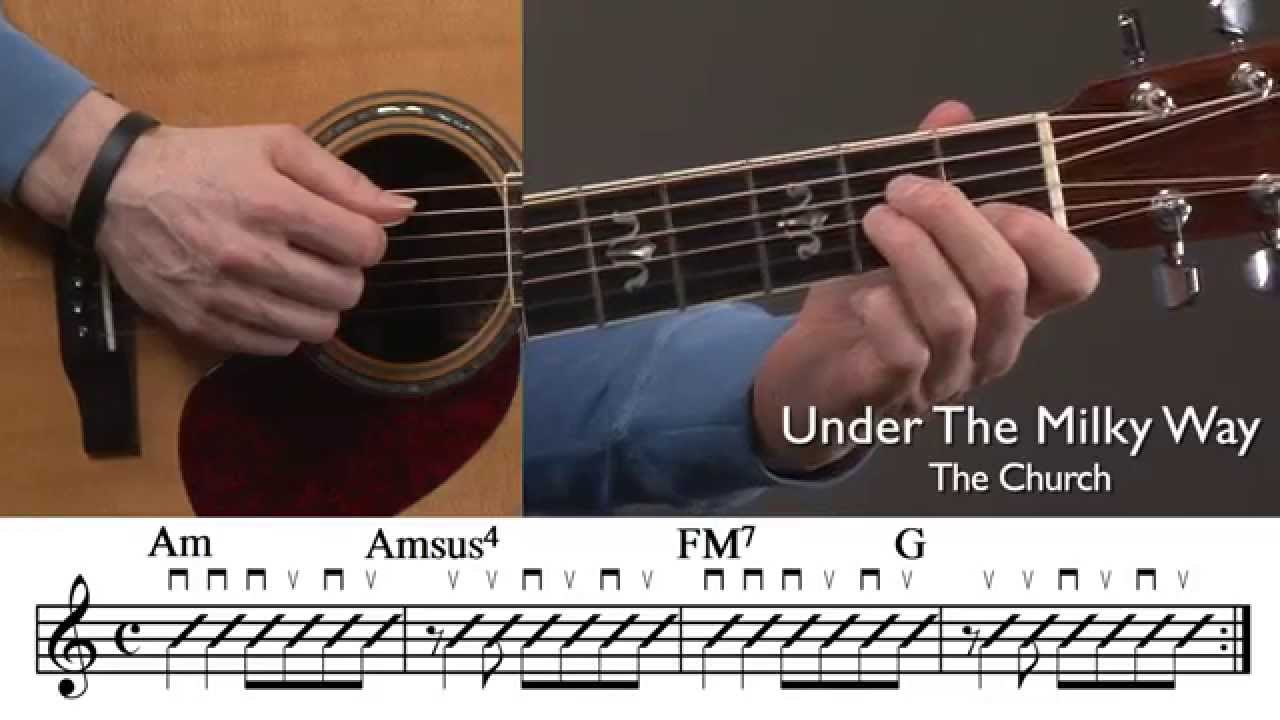 Famous Guitar Chord Progressions Lesson Youtube