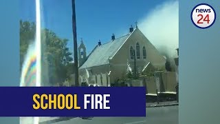 WATCH: Holy Cross primary in Cape Town on fire, learners evacuated