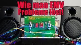Wie man EMV Probleme löst! || Das Mysterium des surrenden Lautsprechers