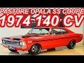 PASTORE Chevrolet Opala SS Coupé 4100 Vermelho Fórmula 1974 aro 14 MT4 RWD 140 cv 29 mkgf #Opala