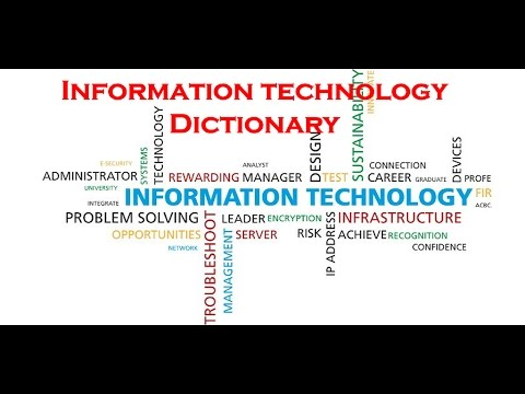 Information Technology Dictionary
