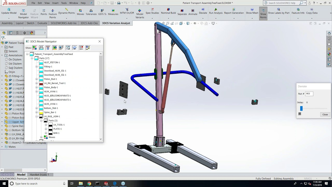 Dimensional Variation Analysis in SOLIDWORKS - Opening and