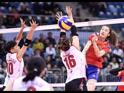 AVC WOMEN'S CLUB VOLLEYBALL CHAMPIONSHIP 2019 | POOL A | CHN - HKG