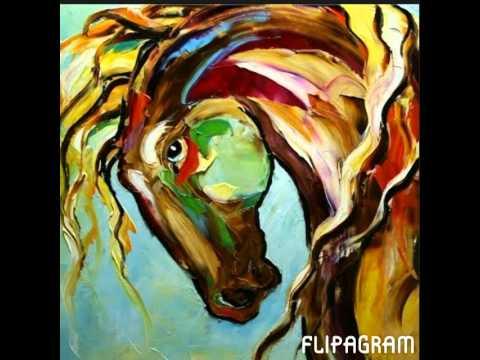 Cuadros abstractos cuadros de caballos y mas mas youtube for Fotos de cuadros abstractos sencillos