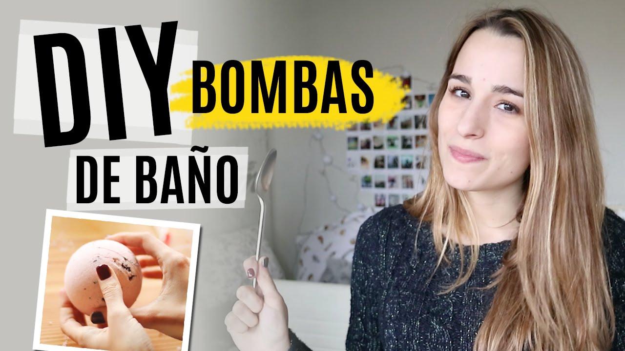Diy bombas de ba o f ciles inspiradas en lush youtube - Bombas de bano primor ...