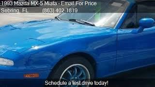 1993 Mazda MX-5 Miata 2DR COUPE CONVERTIBLE for sale in Sebr