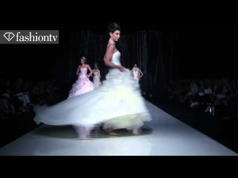 Wedding Gowns by Ian Stuart 2013   White Gallery Bridal Collections, London   FashionTV