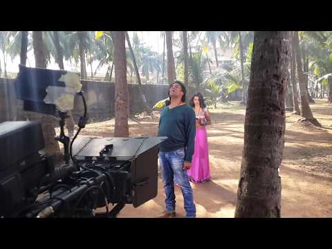 Hero no1,Khesarilal and akshara  songs making by Anthony