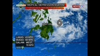 QRT: Weather update as of 5:44 p.m. (January 1, 2018)