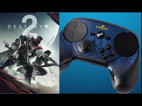 Destiny 2 Control Point PvP with the Steam Controller