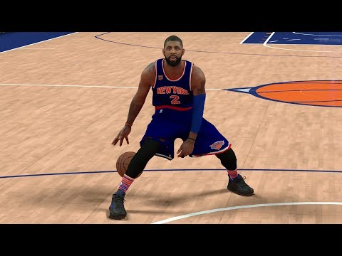 KYRIE IRVING REQUESTS A TRADE! TRADING HIM TO KNICKS! NBA 2K17 GAMEPLAY!