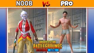 PUBG MOBILE LITE - How To Become A Pro Player || NOOB VS PRO || PUBG Mobile Lite Tips And Tricks