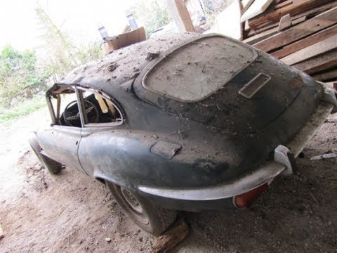 Restoration of a 1971 Jaguar E Type (part 1): bodywork