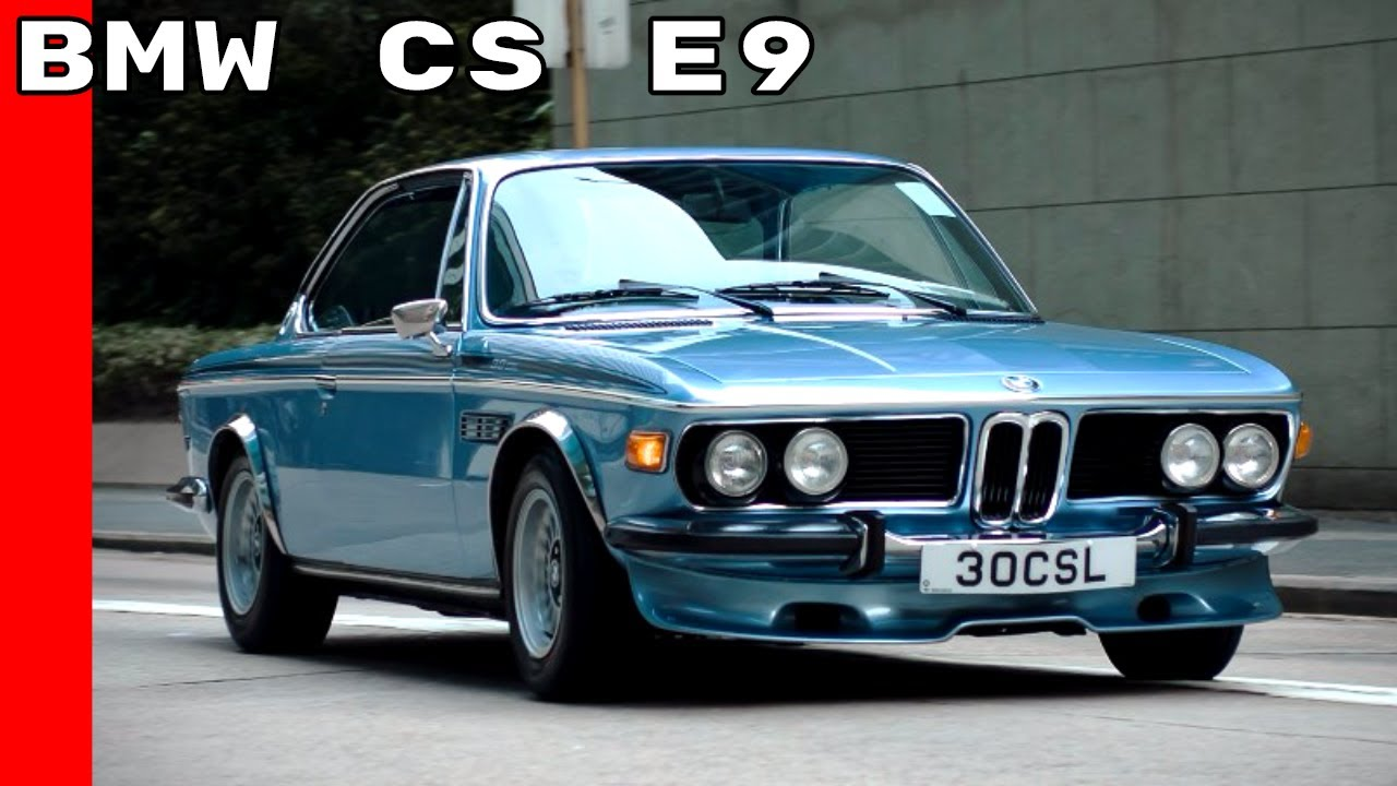 Bmw 3.0 Csl >> Bmw 3 0 Cs Bmw 3 0 Csi 3 0 Csl 2800 Cs Youtube