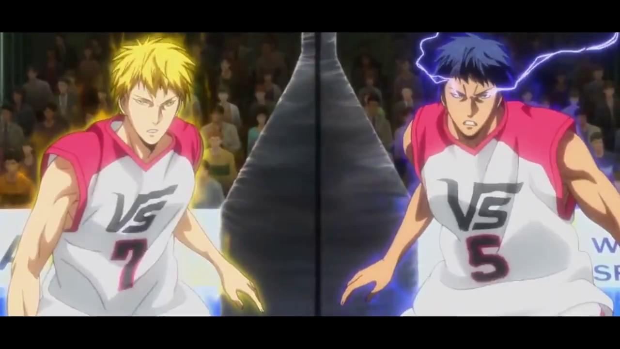 kuroko no basket last game amv kise zone vs jabberwock linkin