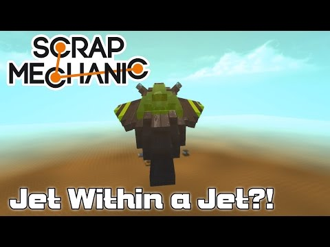 Making a Plane that Launches a Plane with Moonbo! (Scrap Mechanic Live Stream)