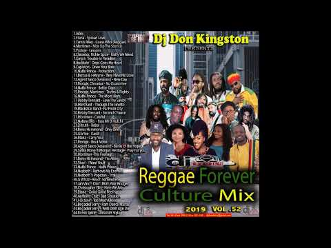 Dj Don Kingston Reggae Forever Culture Mix Vol 52 2019