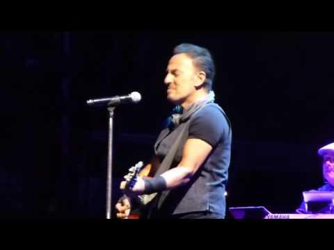 New York City Serenade (with strings) - Springsteen - MetLife#1 Aug 23, 2016