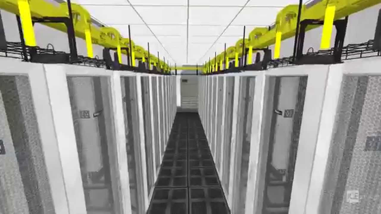 Data Center With Veds In Panduit Ice Youtube