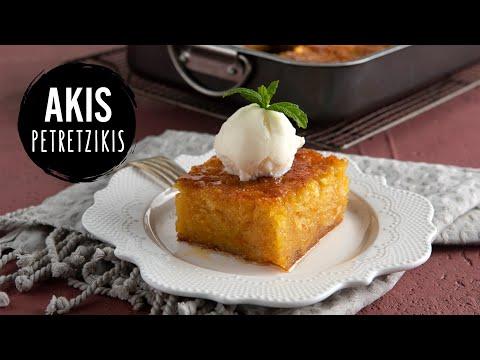 Greek Orange Pie   Akis Petretzikis Kitchen