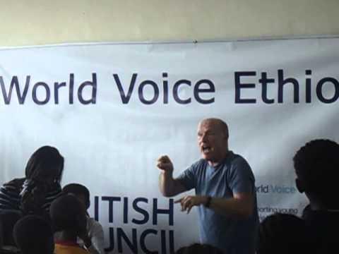 Cheffie primary school world voice Ethiopia zena zena