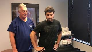 Severe Lower Back Pain With Lumbo-Sacral Radiculopaty Antalg...