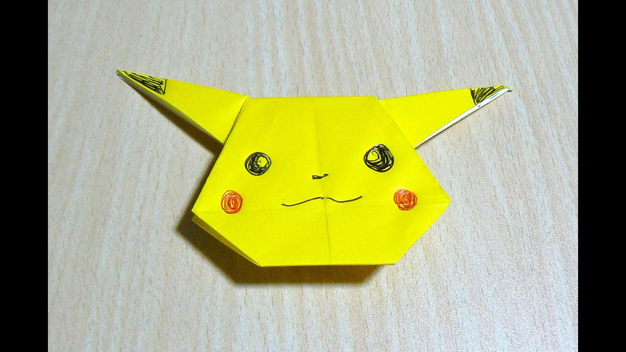 How To Make A Origami Pokeball Easy