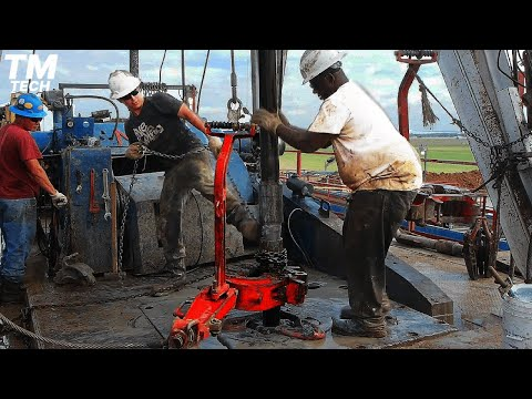 Dangerous Oil Well Drilling | Oil Production From Scratch | Engineering On Another Level