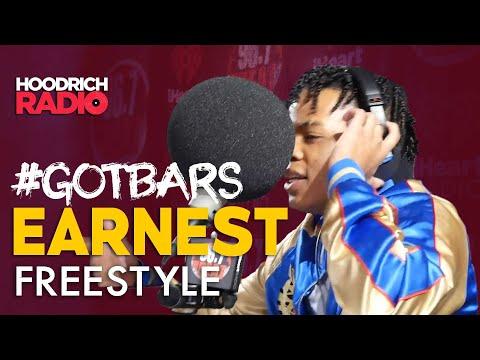 DJ Scream - Got Bars: Earnest Drops a Freestyle on Hoodrich Radio with DJ Scream!