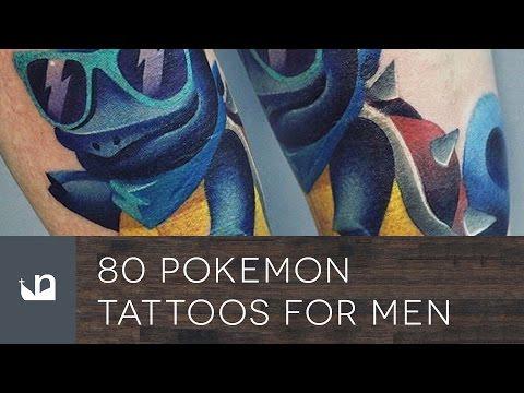 80 Pokemon Tattoos For Men