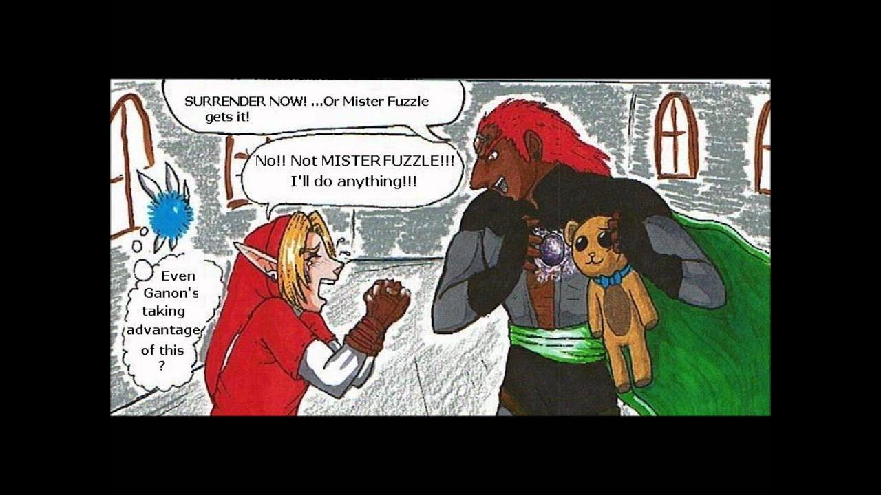 Funny Zelda Comics 3 YouTube