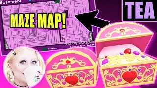 THERE'S A MAP FOR THE MAZE! Full GUIDE for ALL 10 BASEMENT CHESTS! Royale High Autumn Town Update
