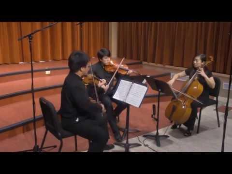 MuUyas Chamber Music:  Jean Cras Trio Pour Violon, Alto et Violoncelle  Movement I