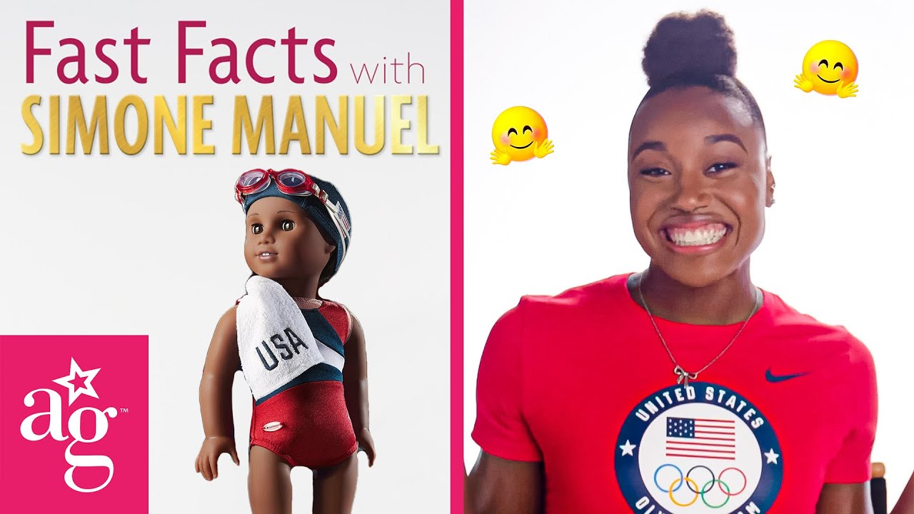 Fun Facts with Simone Manuel!   Team USA x AG   Swimming Olympics 2021 #Shorts