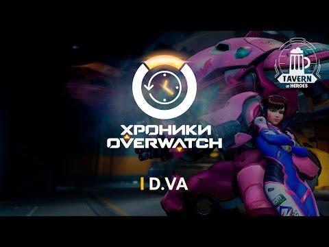 видео: Хроники overwatch - d.va (История персонажа)