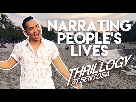 STORYTIME IN SENTOSA WITH FAUZI! | TSL Vlogs
