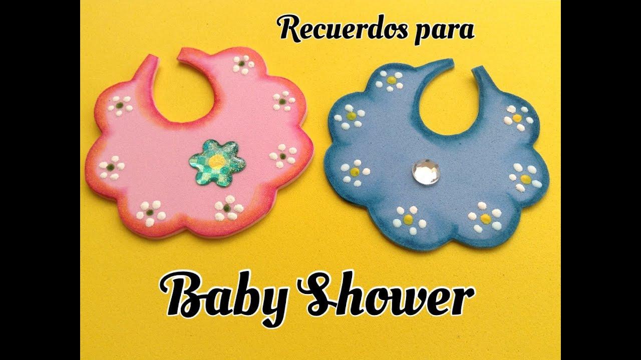 BABERITO PARA BABY SHOWER DE FOAMY . - YouTube