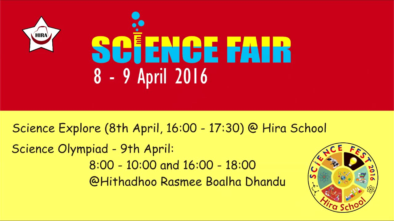 Open invitation science fair 8 9 april 2016 hira school open invitation science fair 8 9 april 2016 hira school stopboris Image collections