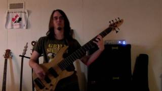 Lifting Shadows Off a Dream - Dream Theater Bass Cover