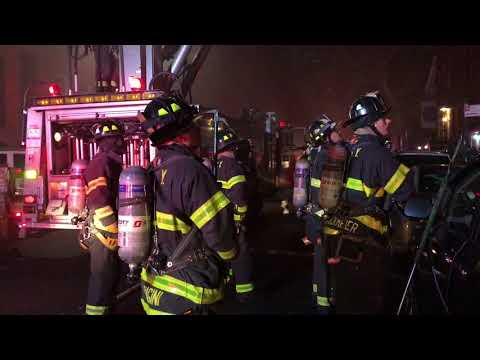 FDNY BOX 802 - FDNY BATTLING A 10-75 ALL HANDS FIRE ON W. 44TH STREET IN HELL'S KITCHEN, MANHATTAN.