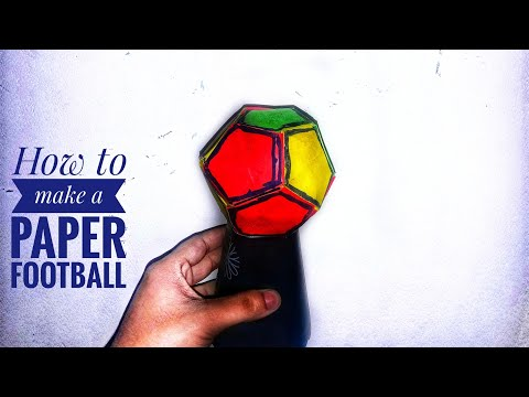 How to make a Paper Soccer ball | Origami Soccer ball| Diy football making|Stop Motion Lover