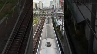 東武50000型試作車(50001編成)池袋大橋より