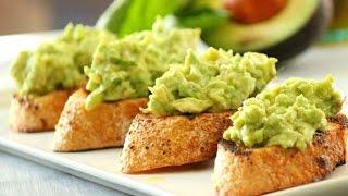 Вкуснейшие бутерброды с авокадо