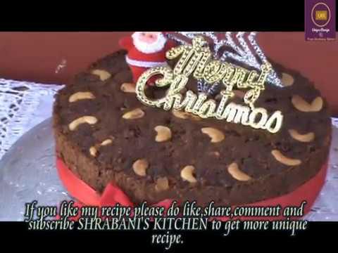 EASY CHRISTMAS CAKE RECIPE/CHRISTMAS CAKE/CHRISTMAS BAKING/PLUM CAKE/EASY RAM CAKE RECIPE/XMAS CAKE