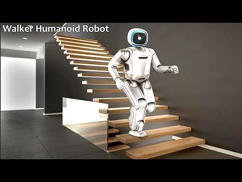 Walker By Ubtech Robotics : Intelligent Humanoid Robot Is Ready To Be Your Assistant.