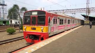 vuclip ジャカルタの日本製中古電車 Jepang kereta api di Jakarta