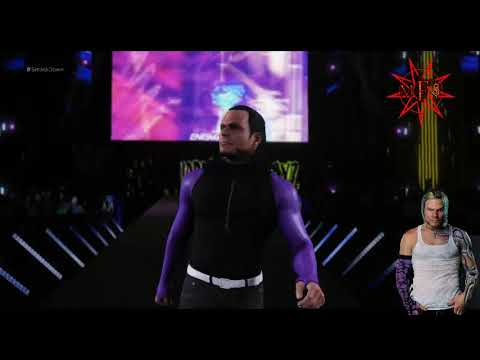 JEFF HARDY ENTRANCE WWE 2K18 WITH 2002 TITANTRON AND NO MORE WORDS  VERSION THEME