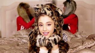 "Ariana Grande's ""Santa Tell Me"" Slumber Party"