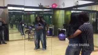 bhojpuri actress shubhi sharma dance practice